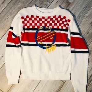 Hot shot vintage sweater